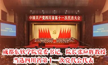 张应辉院长当选为四川省民办教育协会第二届理事会会长